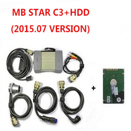 cars korea NZ - Top Quality MB STAR C3 Professional for benz car truck MB STAR C3 with mb C3 Software hdd v2015.07 DHL free