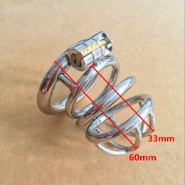 Chastity Ring Sizes Canada - Snap Ring Size 40mm 45mm 50mm Male Chastity Device ,Cock Cages,Virginity Lock,Standard Cage  Belt, Penis Cock Ring,Adult Game Sex Toy