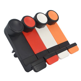 China Portable Adjustable Car Air Vent Mount Holder Stand 3.5'' - 6.3'' For Mobile Cell Phone with package suppliers