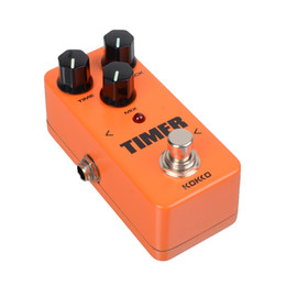 phase pedals Australia - KOKKO FDD2 Timer Portable Mini Delay Guitar Effect Pedal With Straight Connector