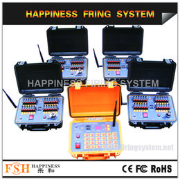 Mejor venta 96 canales / 96 señales Secuenciales y Salvo fuego Control remoto inalámbrico Sistema de encendido de fuegos artificiales (DBR02-X24 / 96)