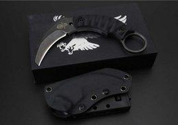 $enCountryForm.capitalKeyWord Canada - Strider Fight karambit Fixed Blade Knife D2 Blade G10 Handle Stonewashed Tactical Camping Hunting Survival Pocket Utility EDC Collection