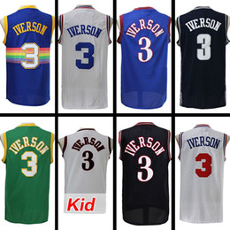 ... NBA Reebok Authentics Team Apparel Allen Iverson 3 Sixers Red  Basketball Jersey Size L by best-selling Allen Iverson Jersey c5255cf9b