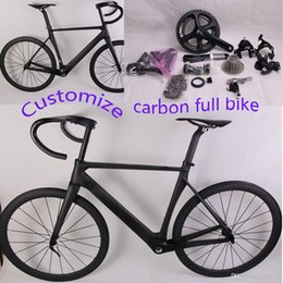 bike complete NZ - Carbon complete road Bike with Original Ultegra groupset carbon full road bicycle custom painting custom bike