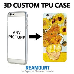 cases for iphone 5s 3d Australia - 300 pcs Customize new fashion 3D embossed case Painted DIY Colored SOFT TPU Case Cover For iPhone 7 7 plus 6s 5s