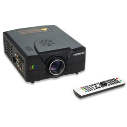 Used bUsiness projectors online shopping - Good Chance HD Projectors For Home entertainment Using With Lumens HDMI USB VGA TV Interface HD Image