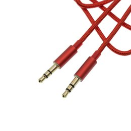 Rca speakeR extension cable online shopping - Aux Cable Braid Auxiliary Cable mm Male to Male Audio M Stereo Car Extension Cable for Digital Device up