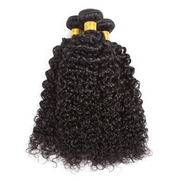 peruvian kinky curls hair 2019 - Peruvian Curly Human Hair Weaves 100% Virgin Unprocessed 8A Brazilian Malaysian Indian Cambodian Mongolian Jerry Kinky C