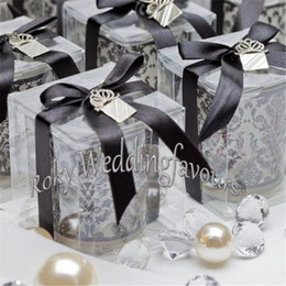 damask party supplies Australia - Free Shipping 50PCS Damask Glass Tealight Holder Wedding Favors Party Table Decor Glass Supplies Events Souvenirs Glass Cup