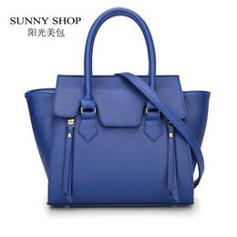 Wholesale-SUNNY SHOP Trapeze Women PU Leather Shoulder Bags Designer  handbags high quality bolsa feminina 2015 bolsos carteras mujer marca f2426cac9c736