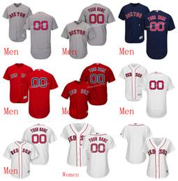 0d13c9b6399c8 ... Custom Boston Red Sox Men Women Customized Red Sox Majestic Flex Base  cool base jersey Personalized ...