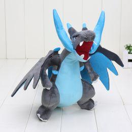 "Discount mega x - New 25cm CENTER Plush Doll Mega Charizard X Y pikachu plush toys Good Quality 10"""