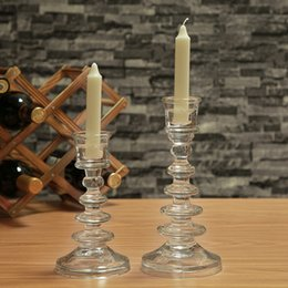 $enCountryForm.capitalKeyWord NZ - Set of 2 Tower Shape Glass Candle Holders Set Special Design, Ideal For Weddings, Party Favor, Gifts