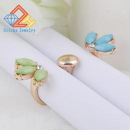 Кристалл двойной палец кольца для женщин регулируемый два пальца манжеты открыть кольцо группа Бесплатная доставка на Распродаже