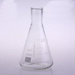 China Wholesale- 300ml Narrow Neck Borosilicate Glass Conical Erlenmeyer Flask For Chemistry Laboratory supplier chemistry glasses suppliers