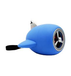 $enCountryForm.capitalKeyWord UK - Blue colour creative plane model Mini-bluetooth cell phone stereo USB heavy bass cartoon small-sized gun sound