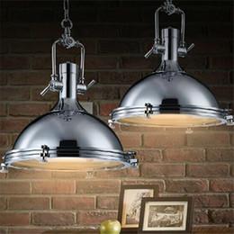 $enCountryForm.capitalKeyWord Canada - RH Benson Pendant Lamp Vintage Lighting Fixture Industry Style Loft Light Illuminate Kitchen Workplace Bronze Chrome Color LED Pendant Light