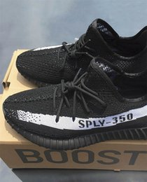 sample shoes men 2018 - 2017 Fashion Boost 350 V2 Zebra Sample Triple Black SPLY-350 Sneaker Men Shoes Boost Sport Running Shoes Women Men Shoe