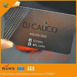 Engraved business cards canada best selling engraved business 100pcs lotchina supplier original surface finish laser engraved stainless steel business cards metal cards china manufacturer reheart Gallery