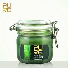 PURC Máscara capilar produtos de cuidados com o cabelo 250 ml lama vulcânica reparação de cabelo suave e brilho venda por atacado