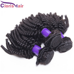 Discount unprocessed curly mixed hair weave - Factory Price Curly Brazilian Hair Weave Mix 3 Bundles Cheap Afro Kinky Curly Human Hair Extensions Unprocessed Double M