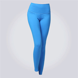 Yoga Pants Xs Canada - Eshtanga Women Yoga leggings super quality High Elastic Waist Solid 4-way Stretch Skinny Pants 3 Colors Available Size XS-L