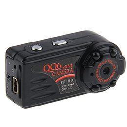 Night Vision Motion Detect UK - Wholesale-1080P HD Mini Camera Motion Detect Mini Camcorders Infrared Night Vision Mini Digital Cam QQ6 DV DVR
