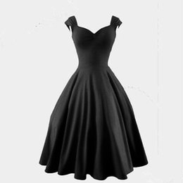 $enCountryForm.capitalKeyWord UK - 2017 Plus Size Audrey' Hepburn Style 1950s 60s Vintage Inspired Rockabilly Swing 50s 2016 Evening Party Dresses for Women