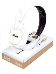 Headband Microphone Canada - MARSHALL monitor Major I Headset DJ Hi-Fi Headphones HiFi monitor Headband Earphones Professional DJ Headphones for iphone x 8 plus