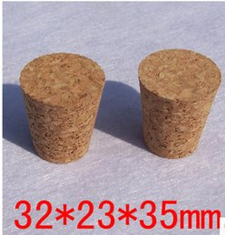 $enCountryForm.capitalKeyWord Canada - Package supplies Free shipping Cork bottle stopper Sealed wooden cork stopper bottle drifting 32mm*23mm*35mm ceramic bottle
