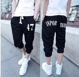 Discount Mens Summer Capri Pants | 2017 Mens Summer Capri Pants on ...