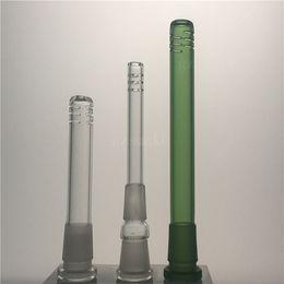 Glass stem 14mm pipe online shopping - Glass Bongs mm mm Downstem Pipes Bong multiple lengths down stem for beaker bong smoking water pipe Oil Rigs Dab Heady Dabber