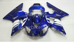 $enCountryForm.capitalKeyWord Australia - 3Gifts New Hot sales bike Fairings Kits For YAMAHA YZF-R1 1998 1999 r1 98 99 YZF1000 Cool Blue White SX5