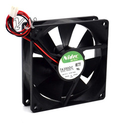 nidec 9cm fan NZ - New 92*92*25mm TA350DC M34709-35 9CM 12V 0.5A PWM volume chassis cooling fan for nidec