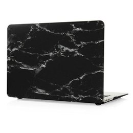 $enCountryForm.capitalKeyWord Australia - Marble Texture Laptop Case For New Macbook 11.6 13.3 12 15.4 inch Air Pro Retina Full Protective Cover