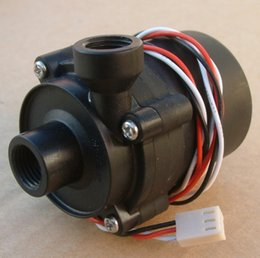"H Case Australia - Wholesale- Sc600 12V DC Water Pump 500 L H G1 4""input and output use for water cooling"