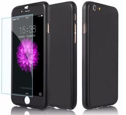 Full Phone Case Canada - Ultra-thin Hard Hybrid PC Full Body Coverage Protective Hard Slim Phone Case for Iphone 6 plus