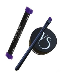 Eye Gel Eyeliner Baratos-Vamp stamp seals Eyeliner con Gel beauty Eyes Liner 3 en 1 Conjunto completo de herramientas de maquillaje Cosmetics 3pcs / set Vavavoom Medium Large