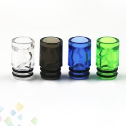Drip tips mouthpieces for ego online shopping - Spiral Drip Tip EGo AIO Helical Spiral Drip Tips for AIO Atomizers E Cigarette Airflow Mouthpiece High quality DHL Free