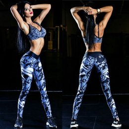 womens sexy yoga pants NZ - Sexy fashion clothing streetwear track pants printing sports yoga womans pants hip leggings womens plus size clothes sweat pants for women