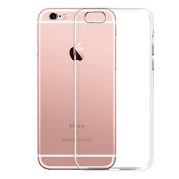 Discount original apple bags - Ultra Thin Soft TPU Gel Original Transparent Case For iPhone 6 6s 6Plus 6sPlus Crystal Clear Silicon Back Cover Phone Ba