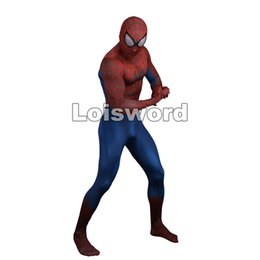 Halloween Disfraces Diseñador Baratos-Diseñador 3D veneno de impresión PS4 INSOMNIAC SPIDERMAN juego de spandex spidey cosplay bodysuit trajes de Halloween Spiderman