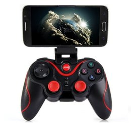Tablet Wireless Controller Australia - Terios T3 Wireless Bluetooth Gamepad Joystick Game pad Gaming Controller Remote Control for Samsung S6 S7 Android Smart phone Tablet TV Box