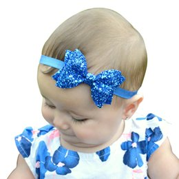 Baby Sequin Hair Clips Wholesale Australia - Children Hair Accessories Sequin Bow Barrettes Baby Hair Accessories 2016 Girl Sparkling Hair Clips Bling Kids Hairclips