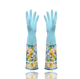 $enCountryForm.capitalKeyWord UK - Extra Long Reusable Gloves Waterproof with Warm Lining Household for Kitchen Dish Washing Laundry Cleaning Gardening PVC Material