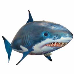 $enCountryForm.capitalKeyWord Canada - flying fish remote control air swimmers Remote Control RC Inflatable Balloon Air*Flying shark Fish Radio Blimp Xmas Gift