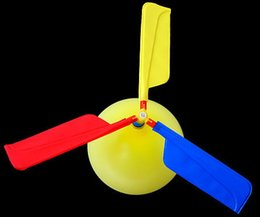 Flower Balloons Canada - Foreign trade balloon balloon helicopter aircraft   balloon flying saucer happy fly ball