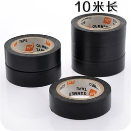 Chinese  Household 10m Antistatic Grid Tape for Laptop Cellphone PVC Waterproof Anti-electric Black Insulation Tape Electric Components Packing manufacturers