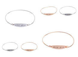 $enCountryForm.capitalKeyWord NZ - Brand new Bursts diy engraved word family three sisters bracelet bracelet FB192 mix order 20 pieces a lot Charm Bracelets
