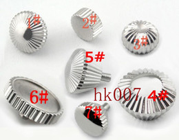 Watch movement parts online shopping - P217 Stainless Steel piece Watch Crown Fit Seagull ST36 eta movement High Quality Crown